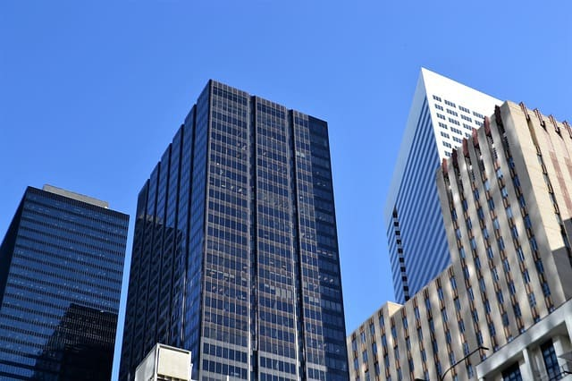 company buildings