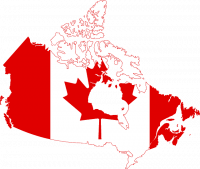 Canadian provinces map