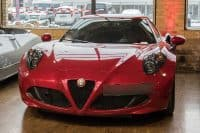 red alfa romeo