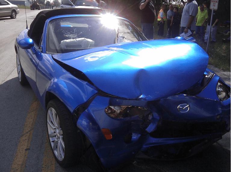 Previous damage