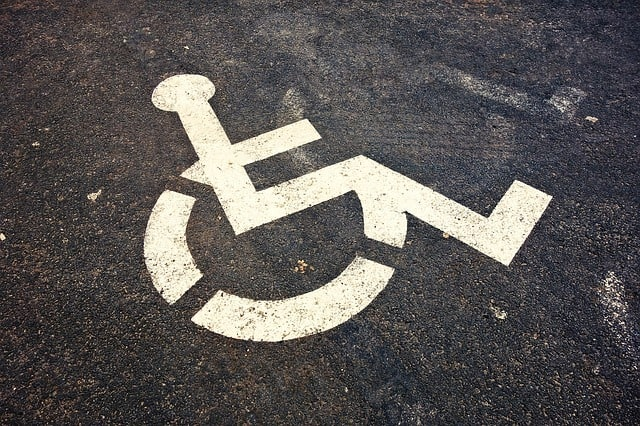 Wheelchair Accessible Vehicle Parking