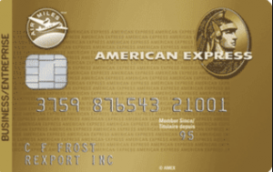 American Express Air Miles Gold Business Card