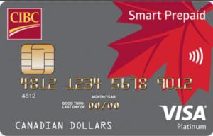 CIBC Smart Prepaid Visa