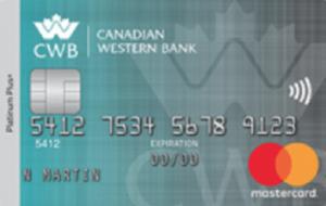 CWB Platinum Plus Mastercard