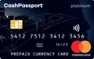 Cash Passport Prepaid Mastercard