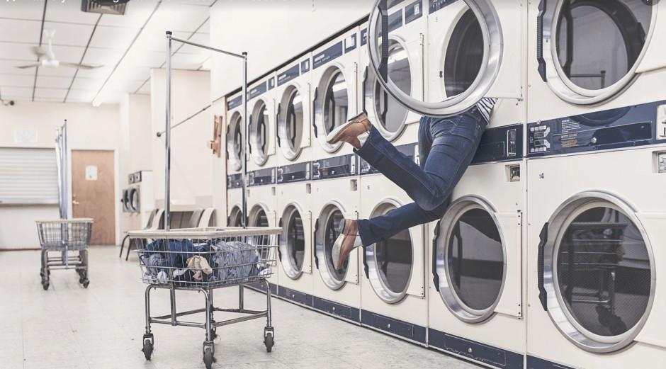 Laundry accident