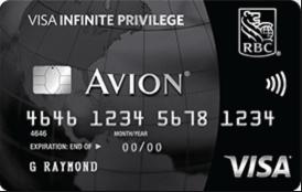 RBC Avion Visa Infinite Privilege