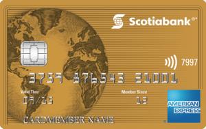 Scotia Bank Gold American Express