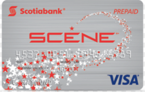 Scotiabank Scene Prepaid Visa