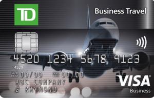 TD Business Travel Visa Card