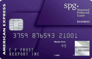 Top 10 best business credit cards canada 2018 stingypig the starwood preferred guest business credit card from american express reheart Image collections