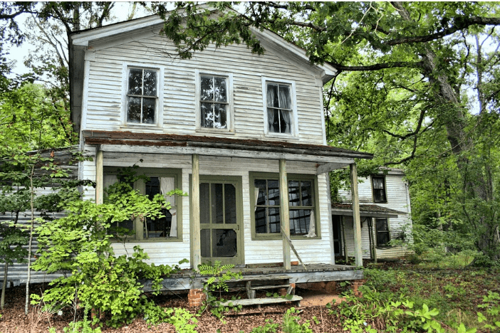 unoccupied home